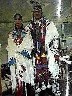 Steve Reevis    Macileand her husband Steve Reevis in full traditional regalia.