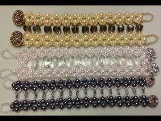 Caged Crystal Bracelet Tutorial - YouTube