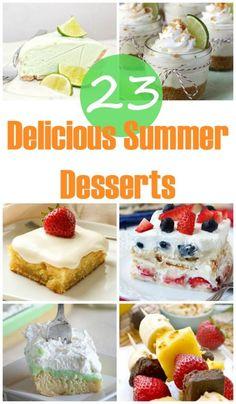 23 delicious summer