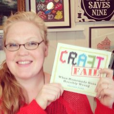 CraftFAIL by Heather Mann Book Review | Hydrangea Hippo by Jennifer Priest