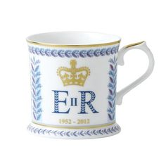 Royal Crown Derby Diamond Jubilee Windsor Tankard. WANT. I will be ordering this TOMORROW.