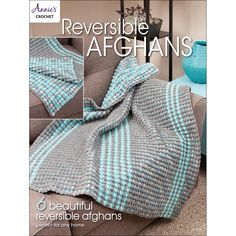 Reversible Afghans - crochet