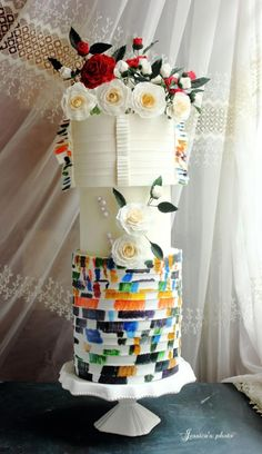 Chanel  Spring 2014 Inspired Wedding Cake