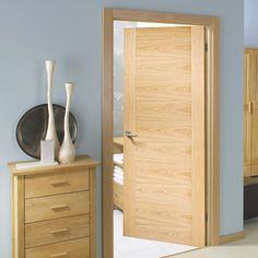 Bespoke Sofia Oak Flush Door - Prefinished.    #oakdoor #bespokedoor #doortosize #madetoprderdoor #interiordoor #newdoor