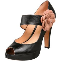 Amazon.com: Luiza Barcelos Women's Jm036 Platform Pump,Black,6 M US: Shoes