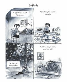 11 Perfect Comics That Will Hit Home For Introverts | HuffPost