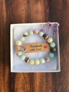 Your place to buy and sell all things handmade Healing Bracelets, Gemstone Bracelets, Diffuser Jewelry, Bracelet Crafts, Handmade Beaded Jewelry, Brainstorm, Creations, Pandora, Spirit Science