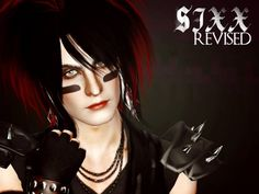 Nikki Sixx male sim plus Peggy's hair 455 for males by astraea - Sims 3 Downloads CC Caboodle