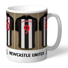 Personalised Ceramic Mug - Newcastle United FC Dressing Room - Small Room Designs Newcastle United Fc, Dressing Room Design, Gifts For Sports Fans, Small Room Design, Small Rooms, Best Gifts, The Unit, Ceramics, Mugs