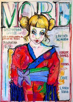 Lidia Bachis Copertina Covid01 Princess Zelda, Fictional Characters, Art, Fantasy Characters