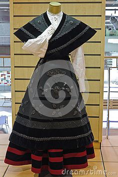 Female Galician National Costume Galicia Spain
