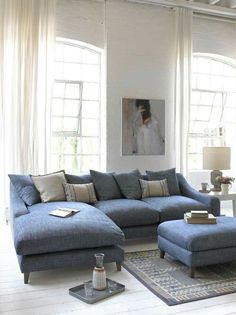 Living room chairs sofa layout 48 Ideas for 2019 Living Room Sectional, Living Room Flooring, New Living Room, Living Room Chairs, Living Room Interior, Living Room Decor, Corner Sofa Living Room Layout, Small Living, Sofa Layout