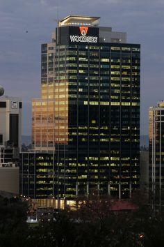Woodside Building, Perth: Interior Roller Blinds