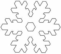 Snowflake Template  Christmas Decor And Gifts