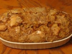 Grandma's Bread Pudding. My hubby loves bread pudding and this sounds so easy.