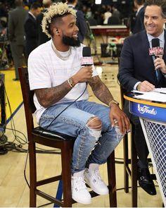 Odell Beckham Jr NBA Finals 2017