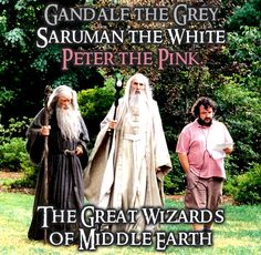 The Great Wizards of Middle Earth
