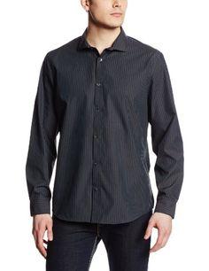Calvin Klein Men's Yard Died End On End Stripe Woven Shirt, Black, X-Large Calvin Klein http://www.amazon.com/dp/B00H4WCB86/ref=cm_sw_r_pi_dp_3tGFvb08QMHRJ