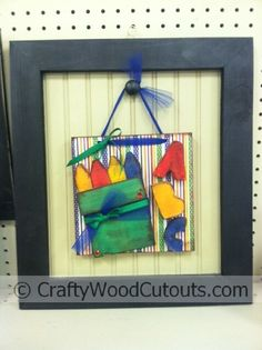 Back to School Post Wooden Craft