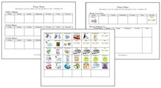 Free Back to School Boot Camp Planner, Printable Chore Charts, and Multiplication Worksheets