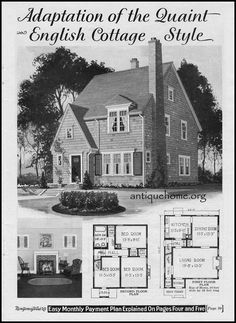 https://flic.kr/p/DF2wSy | 1928 Wardway Kit Home~The Maywood | Mail order homes from the Montgomery Ward Catalog.