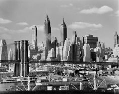 Ausstellung in der Kunstsammlung Gera; Andreas Feininger – New York in the Forties (Time Life Inc./Getty Images, www.mdr.de)