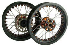 Spoke wheels for KTM? An idea to personalize your bike! #Wheels #Motorcycle #Motorcycles #Custom #Beauty