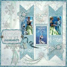 Scrapology-september Frozen How beautiful Frozen Scrapbook, Album Scrapbook, Disney Scrapbook Pages, Scrapbook Sketches, Scrapbook Page Layouts, Baby Scrapbook, Scrapbook Paper Crafts, Scrapbooking Ideas, Wedding Scrapbook