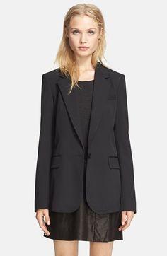 {classic black blazer}