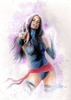 Olivia Munn as Psylocke by Caesar *