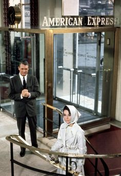 """Cary Grant and Audrey Hepburn in """"Charade"""", (1963) what a great duo they made for this film."""