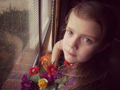 little girl pose..:)