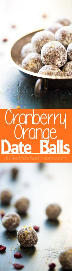 These cranberry orange date balls are packed with protein and energy! They're easy and made in 5 minutes, so they're perfect for a quick and…