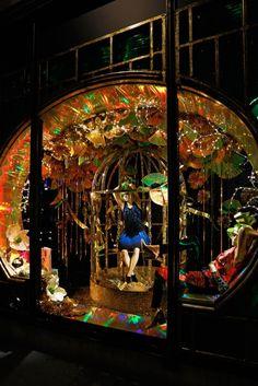 Our favourite 2012 Christmas Displays -Harvey Nichols Christmas Windows