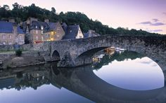 Dinan, Bretagne, France photo via emilyandandrew