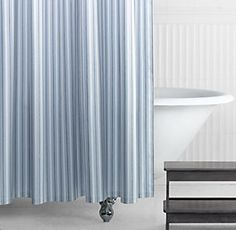 Shower Curtains Blue Shower Curtains And Curtains On Pinterest