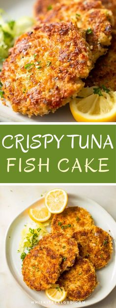 Tuna Fish Cakes, Tuna Fish Recipes, Fish Cakes Recipe, Tuna Cakes Easy, Canned Tuna Recipes, Chicken Recipes, Fish Dishes, Seafood Dishes, Seafood Recipes