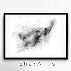 Black and white Sea turtle Sea turtle Wall Art Sea by ShakArts