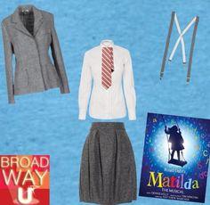 This week's Broadway look...