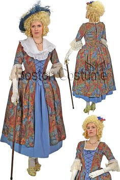 18th Century Costumes for Women | 18th Century/Colonial Woman Costume