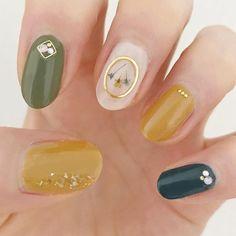Creative Nail Designs, Cute Nail Designs, Creative Nails, Basic Nails, Simple Nails, Garra, Cute Nail Art, Cute Nails, Sparkle Nail Polish
