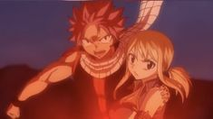 Fairy Tail | Nalu Natsu is so protective with Lucy!! photo from Fairy Tail Zero opening