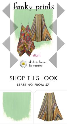 funky prints for plus size by alight-com on Polyvore  #alight #plussize #plussizefashion #spring #summer