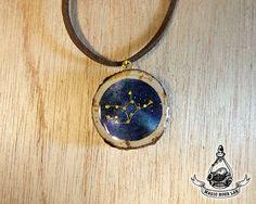 constellation necklace (Virgo), Star Necklace, Zodiac Jewelry, Space Jewelry…
