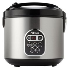 Aroma 20-cup (Cooked) Digital Rice Cooker and Food Steamer, Stainless Steel, New Kitchen Product -- New and awesome product awaits you, Read it now  : Pressure Cookers