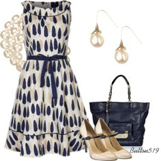 Lovely People Tree Dress, created by button519 on Polyvore