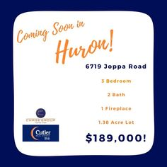 Coming soon in Huron! #chasegroup #cutlerhomes #huron #realestate
