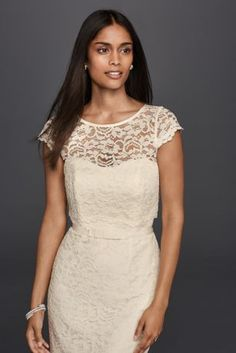 Lace Cap Sleeve Shor