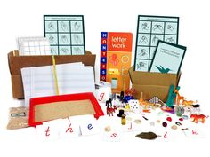 Montessori Learning At Home. Each Toolbox Has Video Instruction And All The Materials For Hours And Hours Of Montessori Learning. Ages 3 - 5