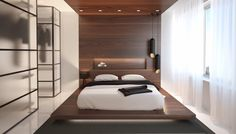 Wooden Wall Designs: 30 Striking Bedrooms That Use The Wood Finish Artfully